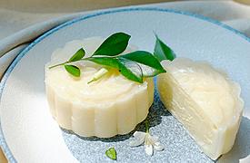 荔枝抹茶茉莉冰皮月饼